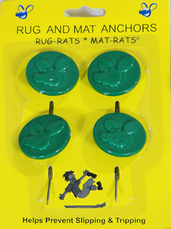 Rug Anchors Help Prevent Slipping And Tripping