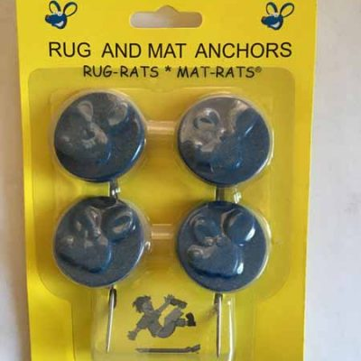 Blue Rug and Mat Anchors