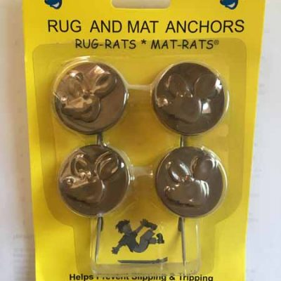 Brown Rug and Mat Anchors