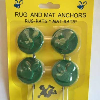 Green Rug and Mat Anchors