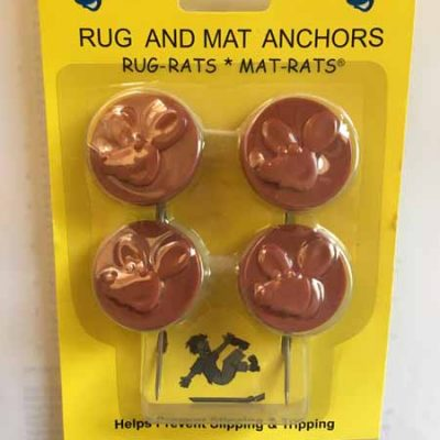 Red Rug and Mat Anchors